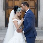A Summer Wedding with Modern Glam in Toronto, Ontario