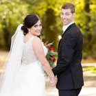 A Hollywood Glamour Wedding with Red and Black Details in Burnaby, British Columbia