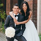 A Fun Football-Loving Modern Wedding in Toronto, Ontario