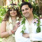 A Tropical Indian Fusion Destination Wedding in Oahu, Hawaii