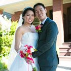 A Vibrant, 2-Ceremony Wedding wtih Pink Details in Markham, Ontario