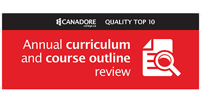 Annual curriculum and course outline review