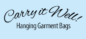 Carry it Well Hanging Garment Bags