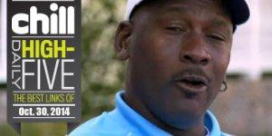 Daily High 5: Jordan Slams Woods, South Park Slams Taxis