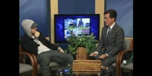 Stephen Colbert Interviewed Eminem on Public Access TV