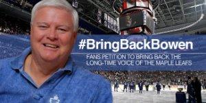Leafs Fans Petition to #BringBackBowen