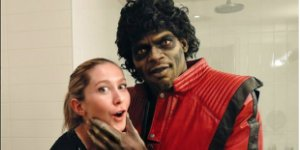 P.K Subban Dresses as 'Thriller' Michael Jackson for Halloween