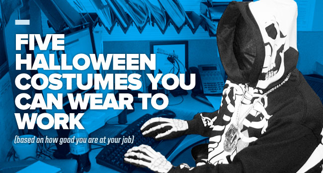 Five Halloween Costumes You Can