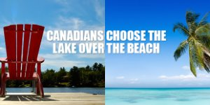 Canadians Choose the Lake Over the Beach