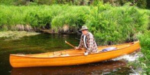 Canadian Suspect Flees Police on Canoe