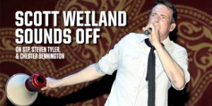 Scott Weiland Talks STP, Steven Tyler & Chester Bennington