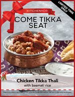 Chicken Tikka Thali