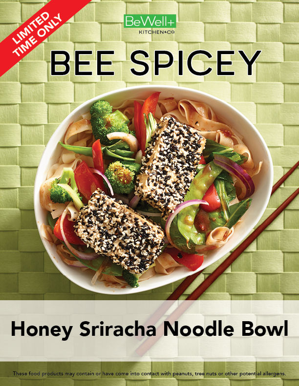 Honey Sriracha Noodle Bowl