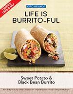 Sweet Potato & Black Bean Borrito