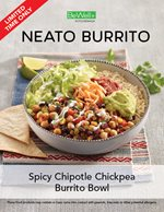 Spicy Chipotle Chickpea Burrito Bowl