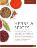 Superfood Herbs and Spice