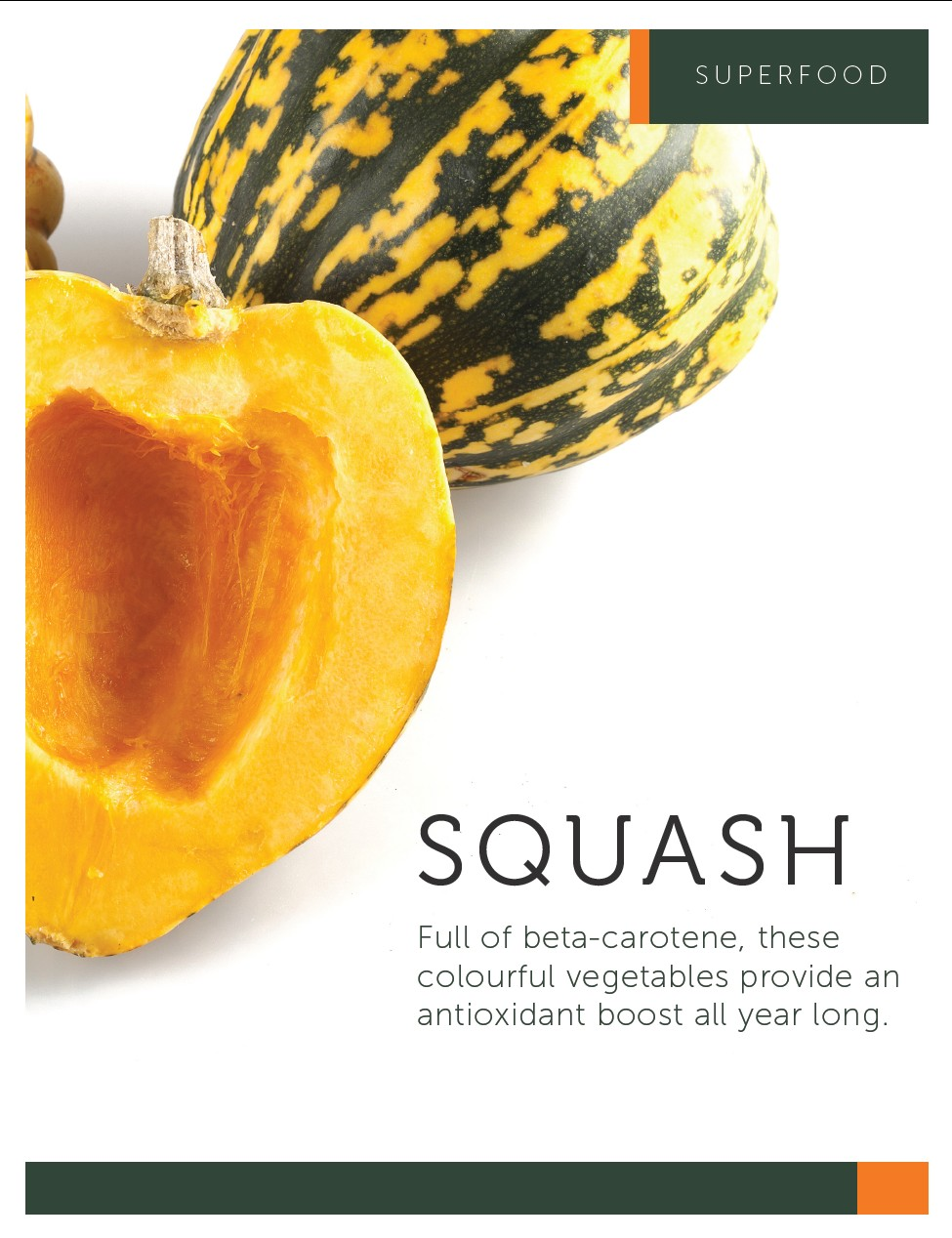 SUPERFOOD SQUASH