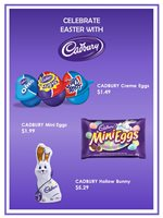 Celebrate Easter with CADBURY