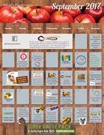 Sample Monthly Calendar