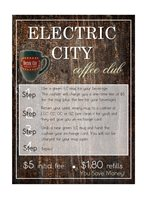 Electric City Coffee Card