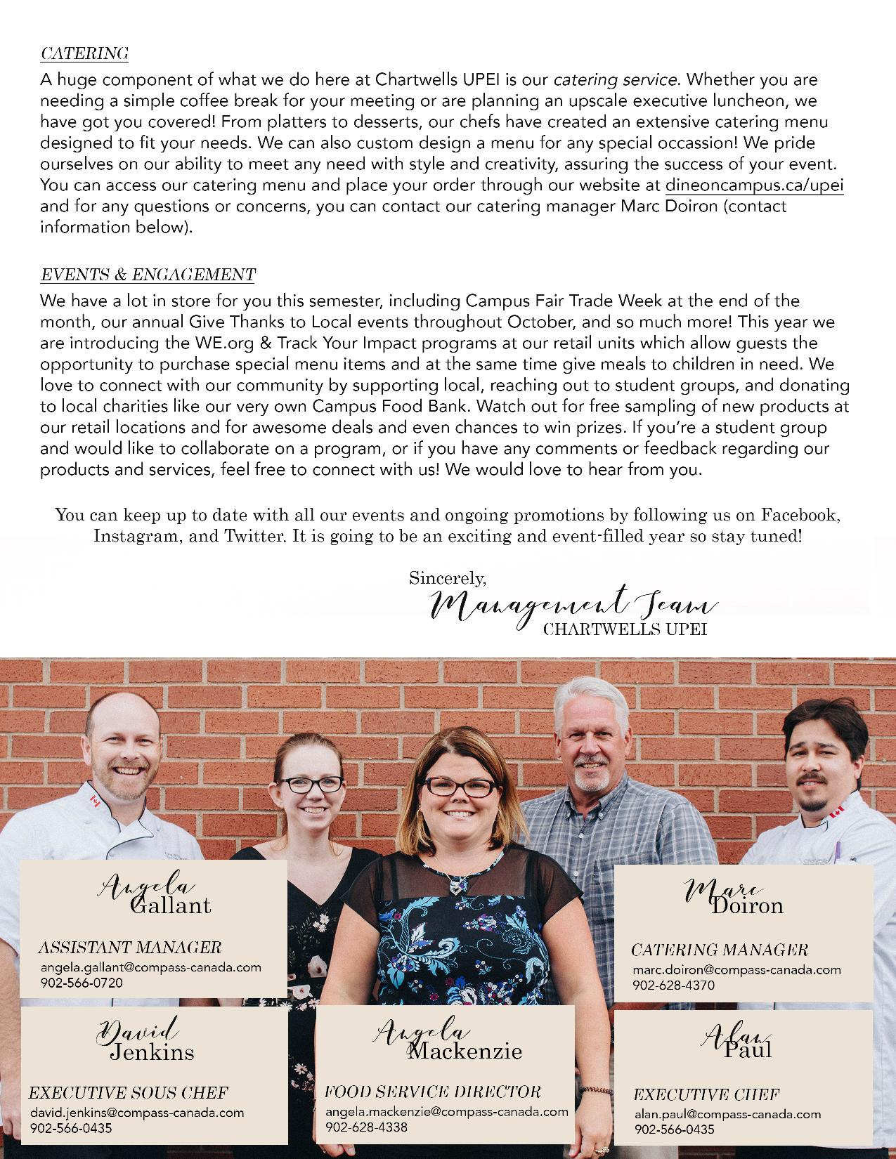 Fall Newsletter