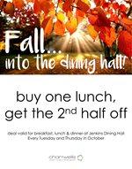 October Dining Deal