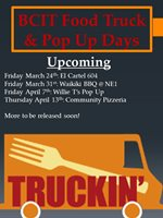 Food Truck & Pop Up Schedule