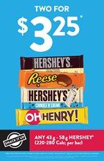 Snack It Up: Hershey's Bars