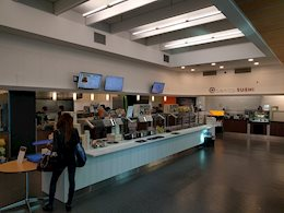 A view of the Birch Food Court