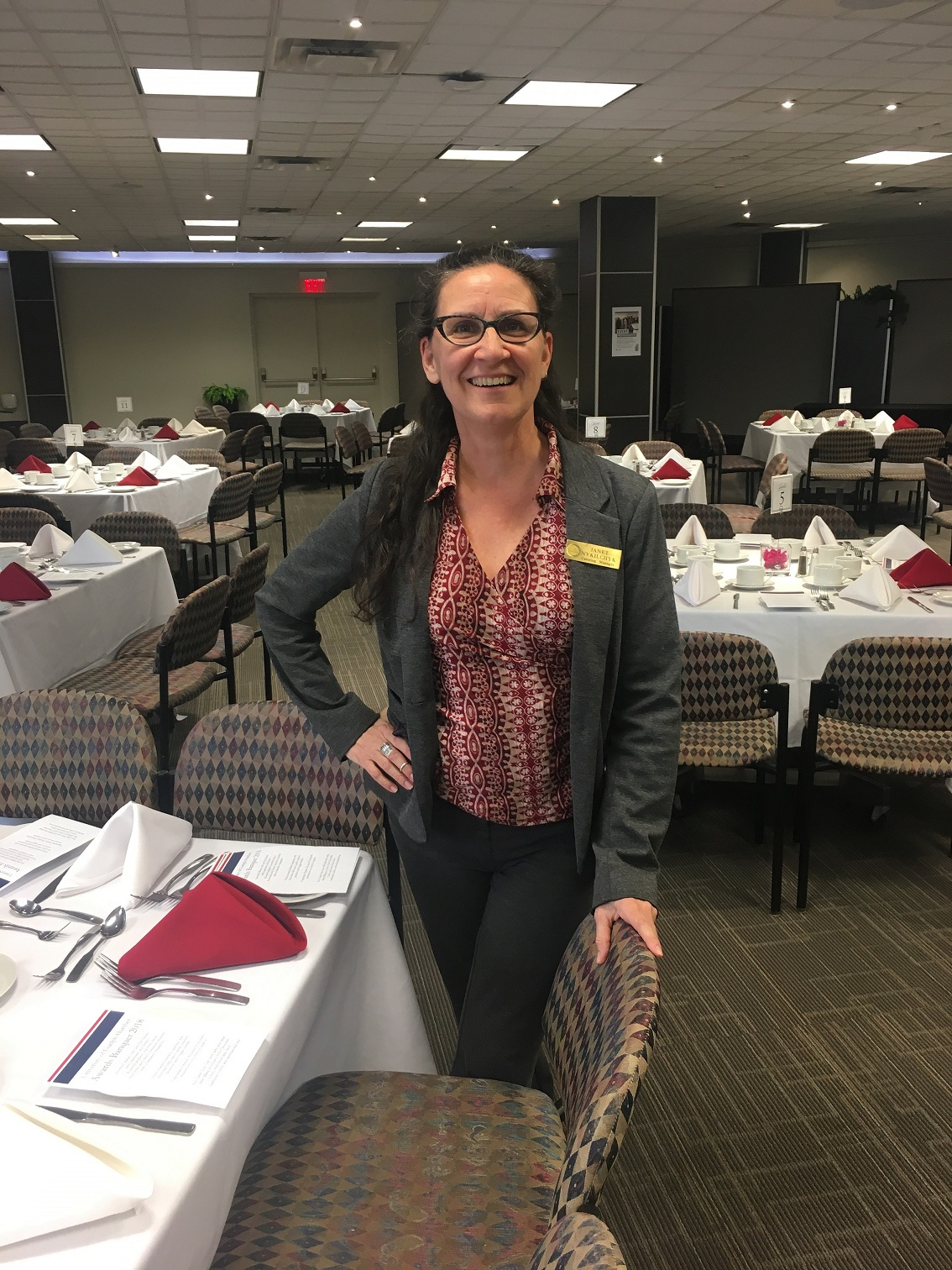 Janey Nykilchyk - Catering Manager, Humber North Campus