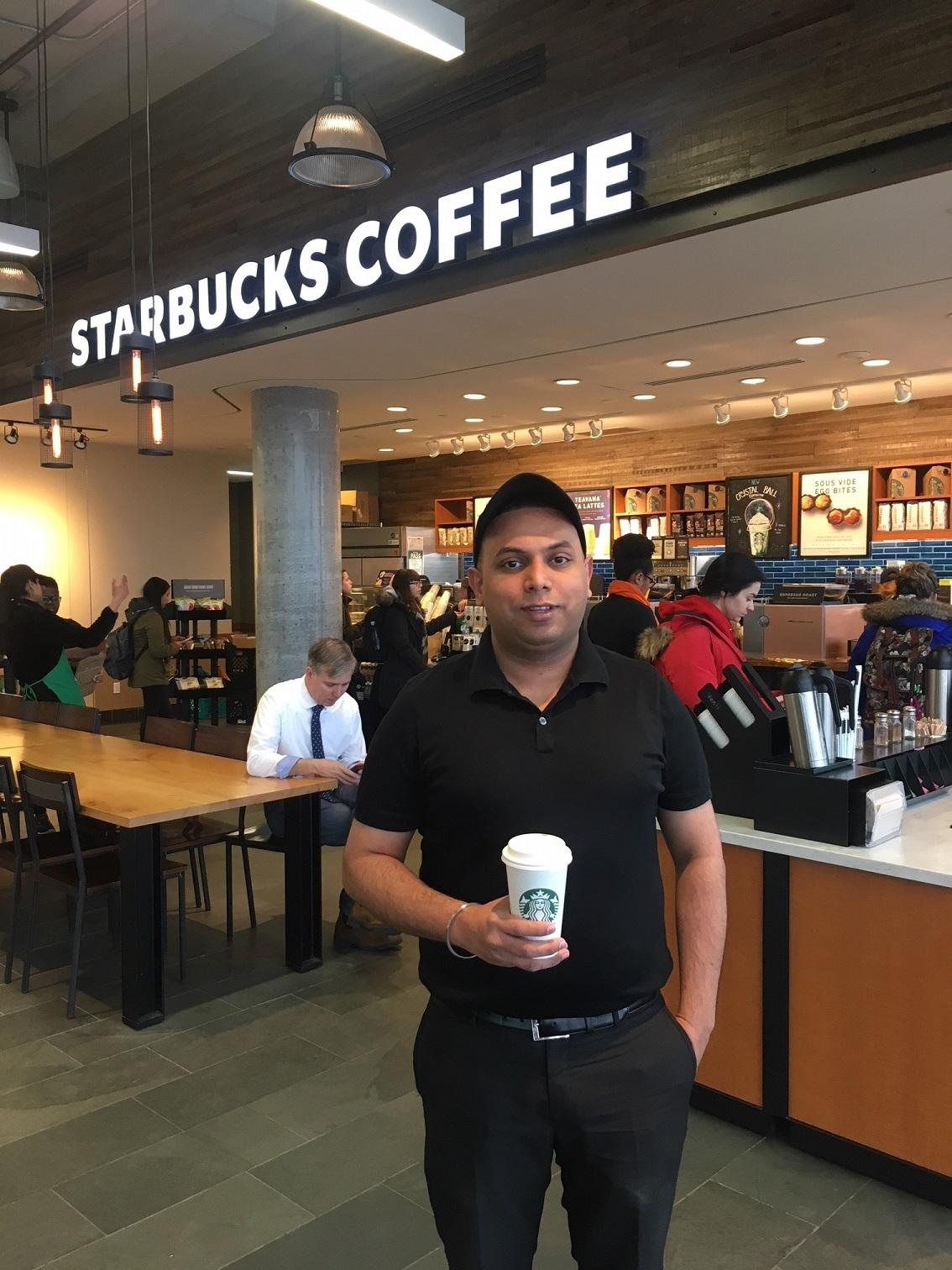 Amrit Singh - Starbucks Manager, North Campus