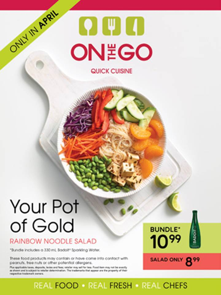 On The Go Rainbow Noodle Salad!