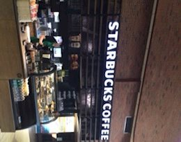 Starbucks, J.N. Desmarais Library Rotunda