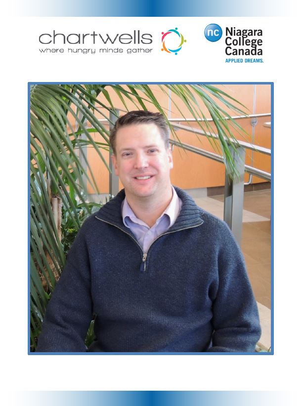 Steven Griffiths - Food Services Manager - Niagara-On-The-Lake Campus