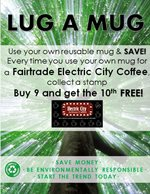 Buy 9, get the 10th free coffee cards