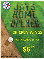 Blue Jays : Chicken Wings