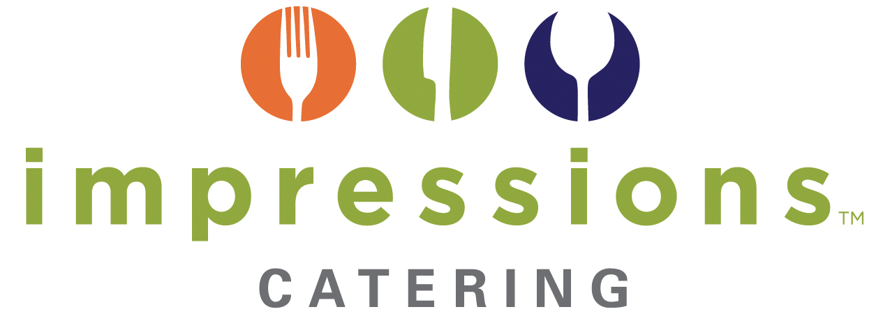 impressions catering logo
