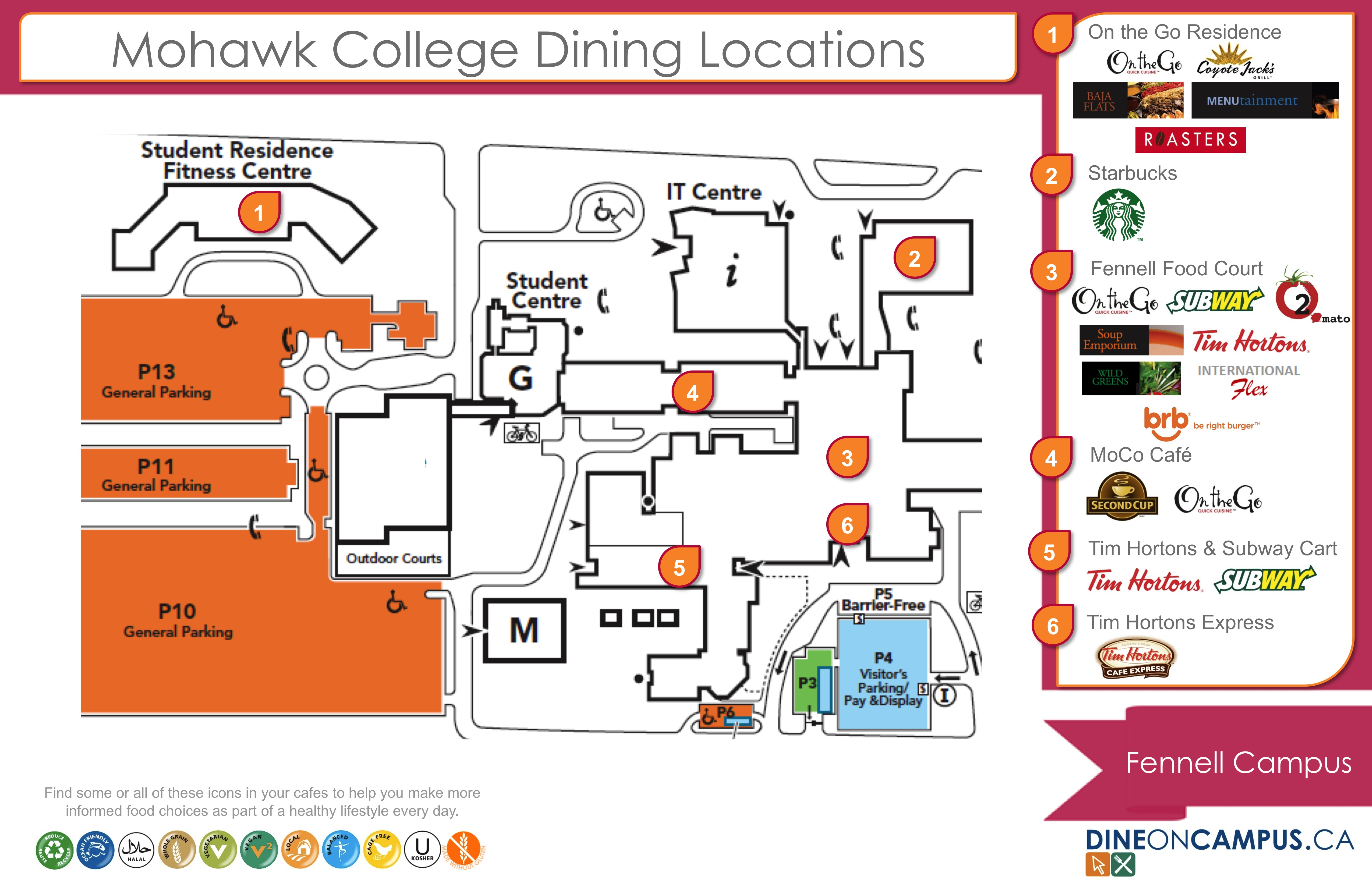 Fennell Campus Map