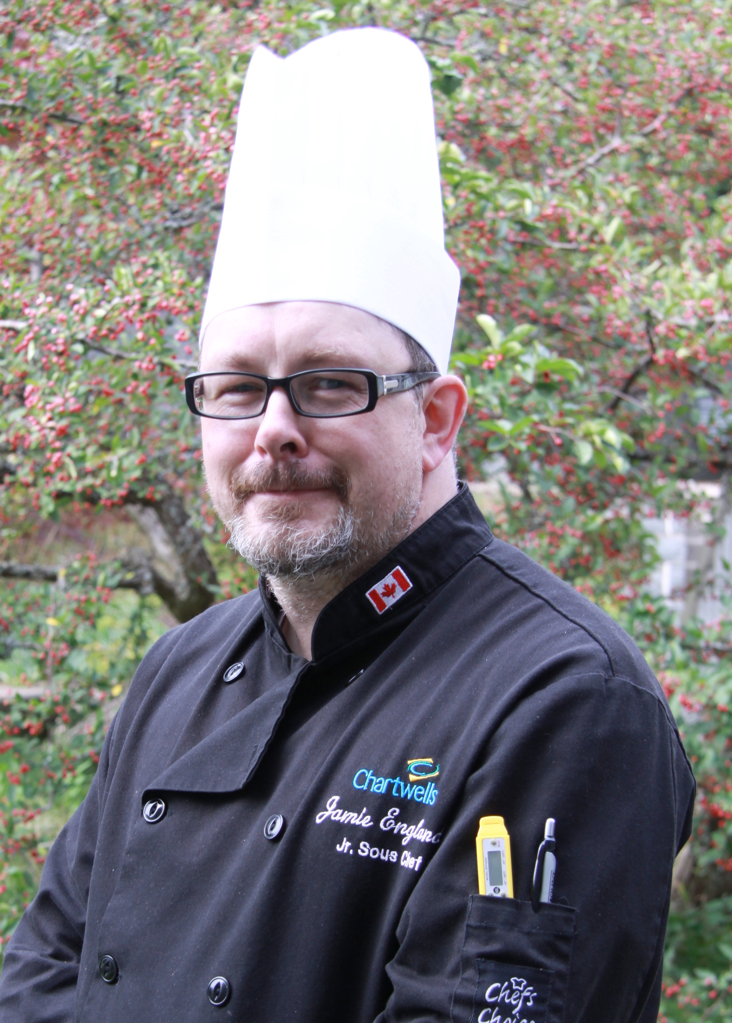 Sous Chef Jamie England - Sous Chef