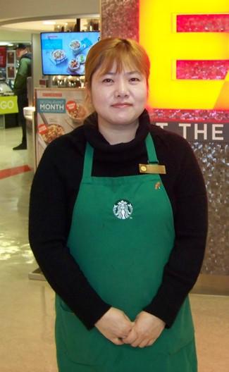 Kate Kim HyeJung - Starbucks Manager