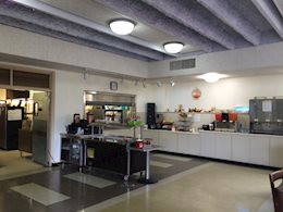 Cafeteria location