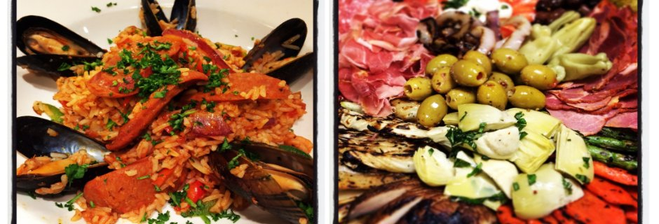 Paella & Antipasto