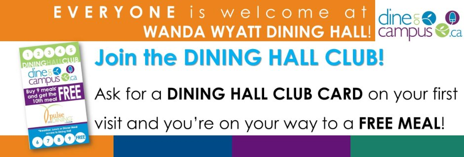 Dining Hall Club Card