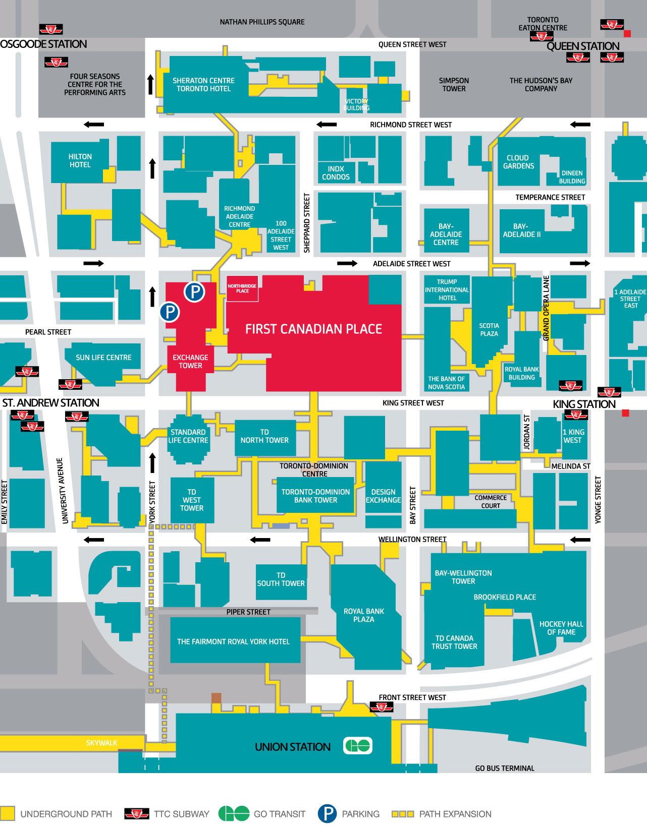 PATH/Street Map