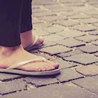 Flip-Flops Can Pose Serious Foot Problems