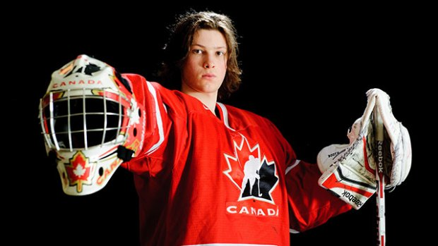 Callum Booth - Photo from HockeyCanada.ca