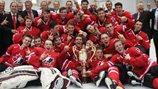 Canada wins 2015 Ivan Hlinka gold medal
