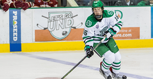 Brock Boeser University of North Dakota Fighting Hawks