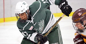 Hockey Delta Academy's Justin Sourdif