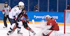 Nurse Nets Winner for Canadian Women's Hockey Team Over the U.S.